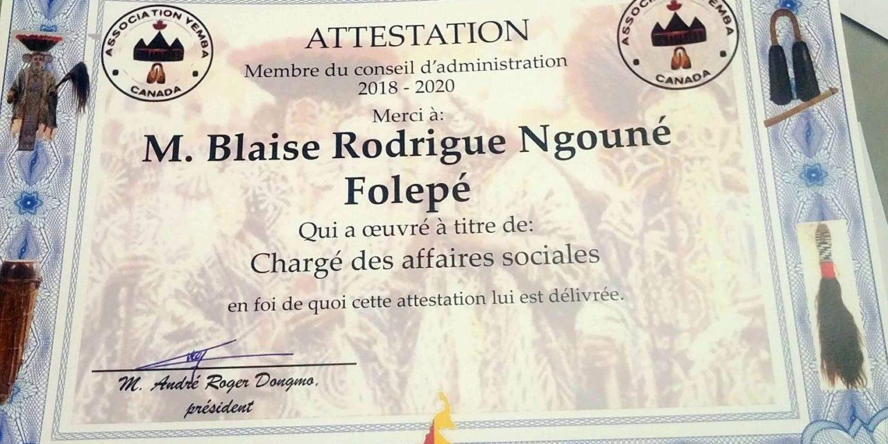 AG du 02 novembre 2019 , récompenses et reconnaissances